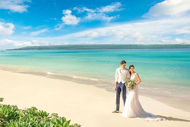 沖縄離島で憧れのリゾ婚