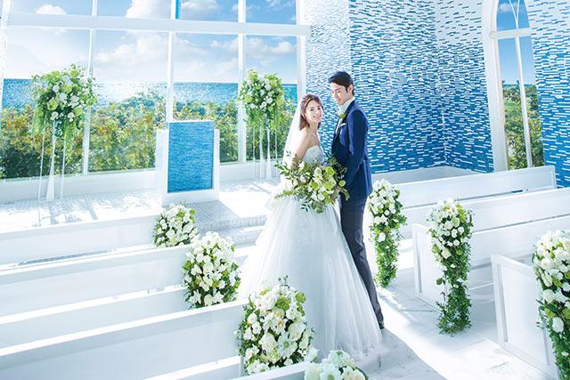 離島でのリゾ婚の魅力。宮古島&石垣島のチャペルウェディング