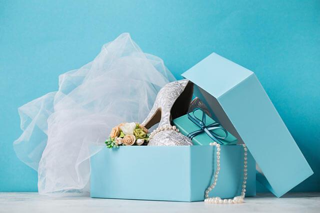 結婚式のウェディングシューズ