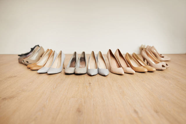 結婚式の靴マナー