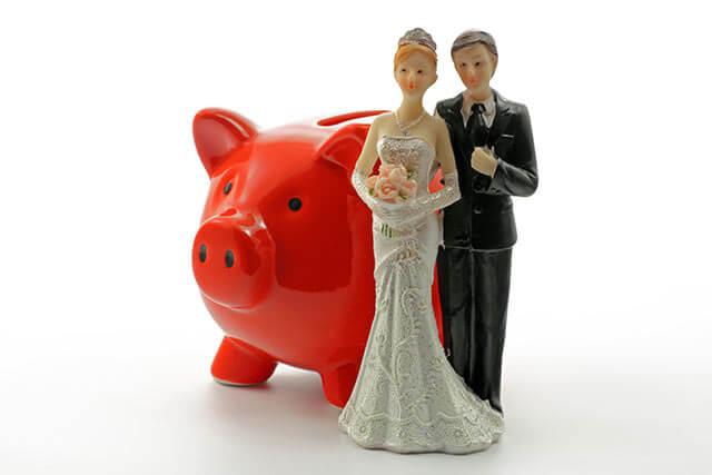 結婚式の費用