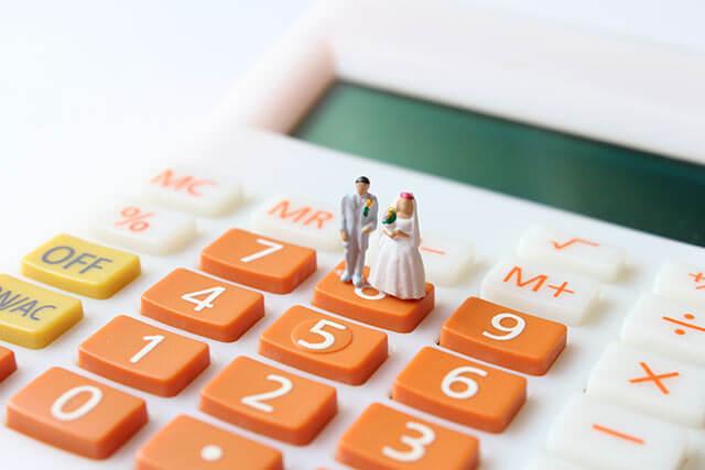 結婚式の費用負担