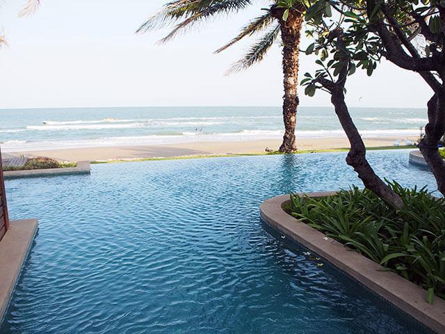 タイ・ホアヒンのビーチリゾート