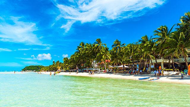 フィリピン・ボラカイ島のリゾート