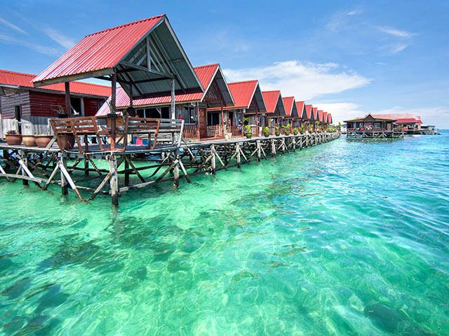 マレーシア・ボルネオのリゾート