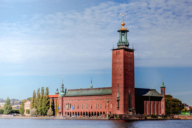 スウェーデンの市庁舎