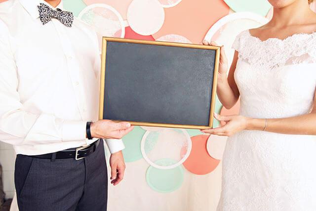 結婚式1.5次会のプログラム