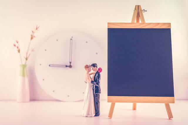 結婚式の打合せ