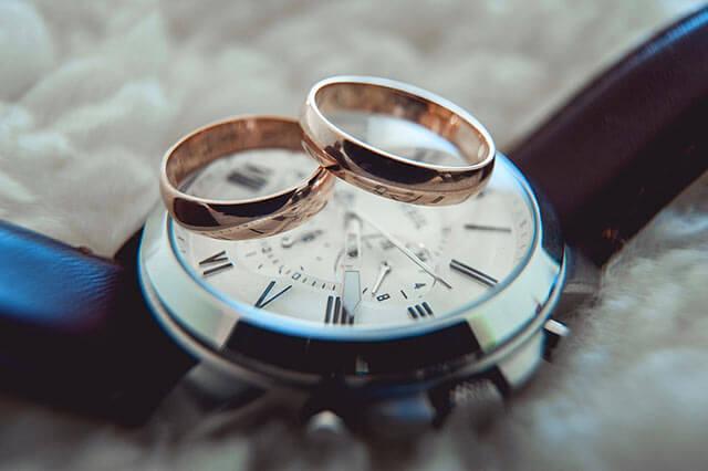 ペアの腕時計