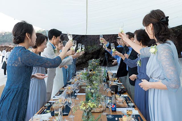 小値賀島ウェディング披露宴