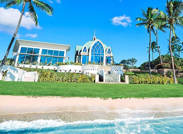ハワイのチャペル コオリナ・チャペル・プレイス・オブ・ジョイ