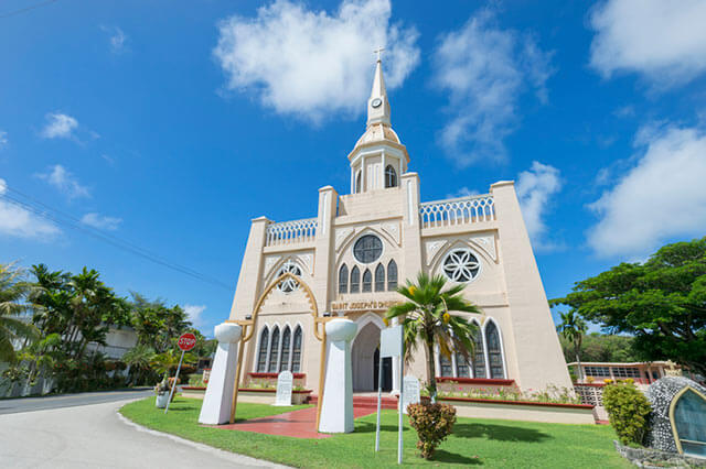 グアムの海外挙式教会