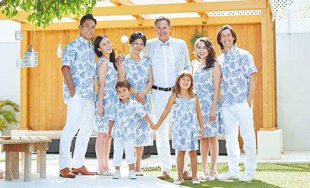 ワタベウェディングSHIPSコラボゲストアロハ アロハシャツ 結婚式 ハワイ