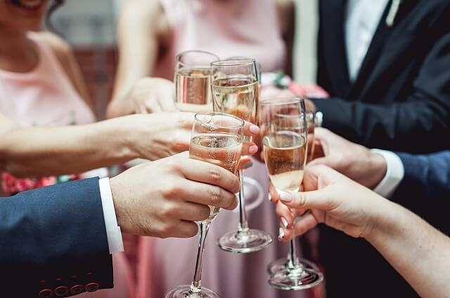 結婚式二次会費用の内訳