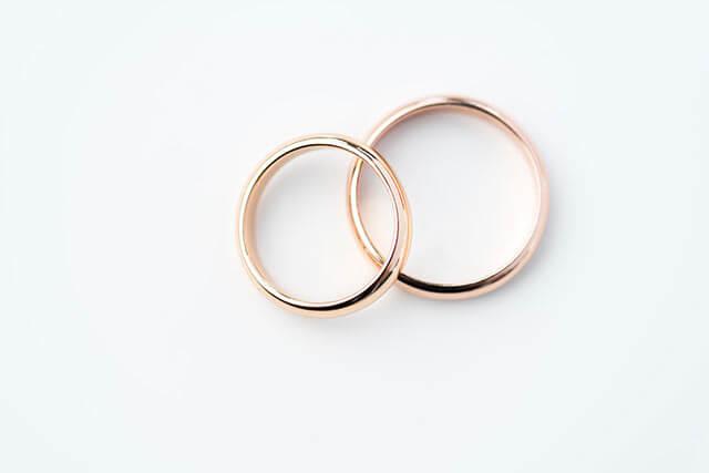 スウェーデン結婚式の結婚指輪