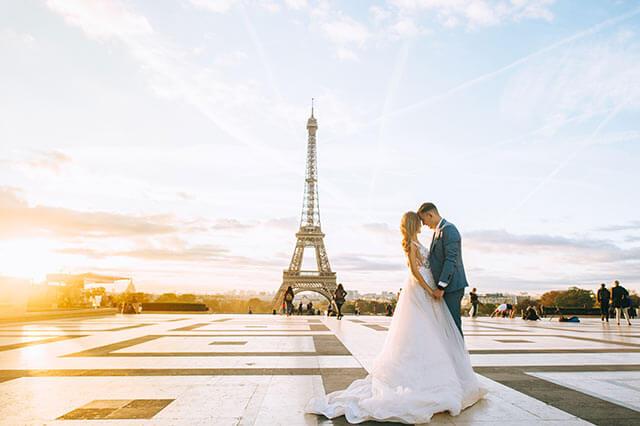 フランスパリの海外挙式