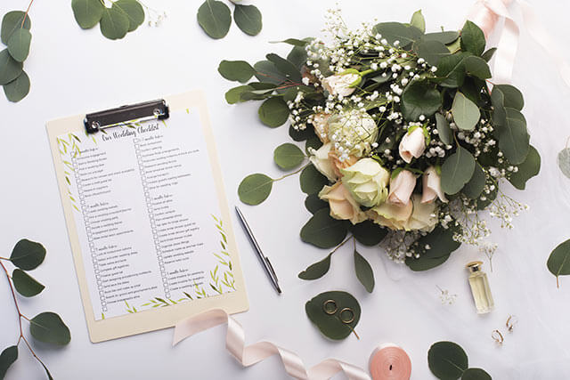 結婚式前日の準備