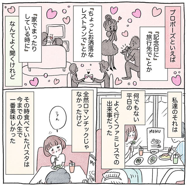 グラハム子さんの結婚式漫画