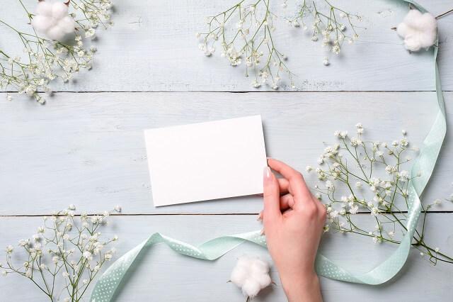結婚式出席の返信はがきに添えるメッセージ例文