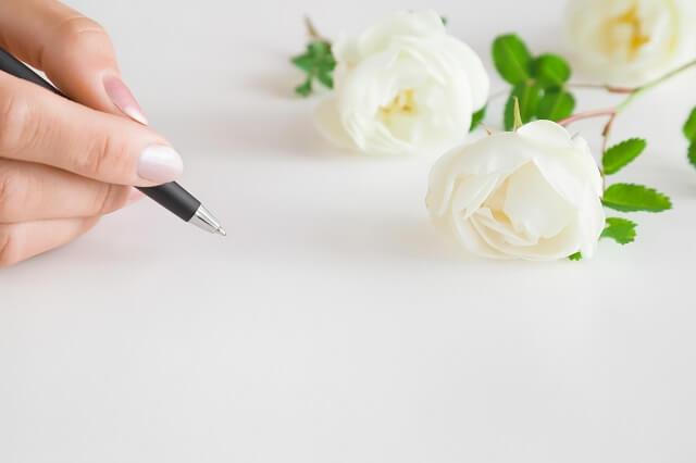 結婚式欠席の返信はがきに添えるメッセージ例文