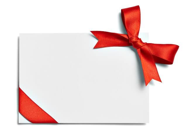 ギフト券商品券やギフトカードとは、結婚祝いで喜ばれる理由やメリット