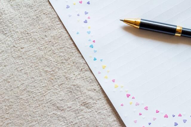 結婚祝いに添える手紙や送り状の構成と書き方