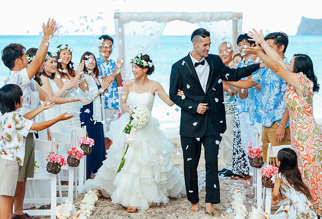 身内だけの結婚式