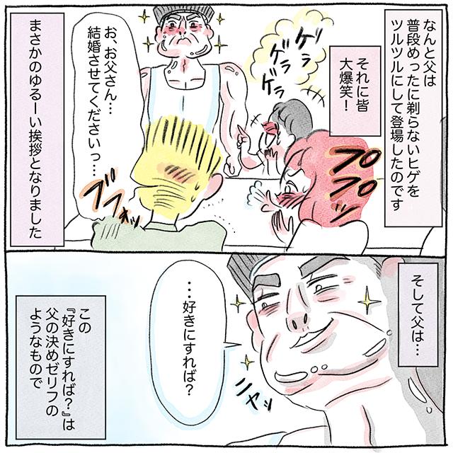 教えて!みんなの結婚物語グラハム子さん漫画