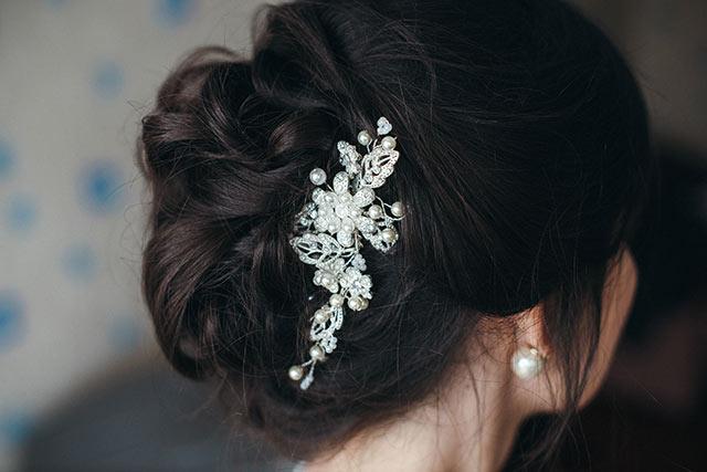 結婚式前撮りの髪色