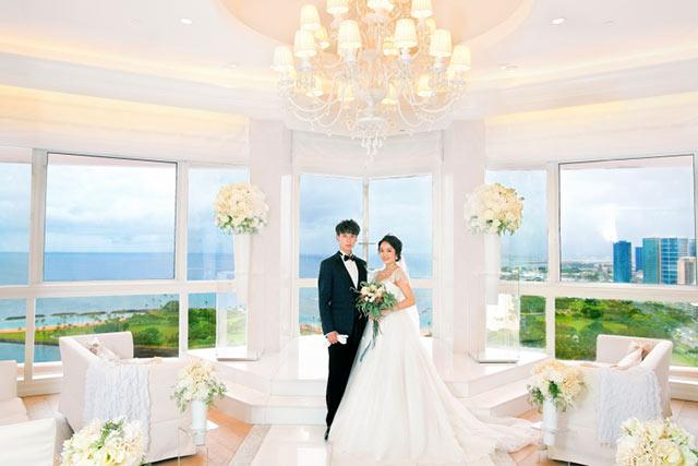 ハワイや沖縄…リゾートでのフォトウェディング
