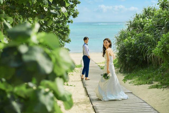 沖縄離島でのリゾ婚