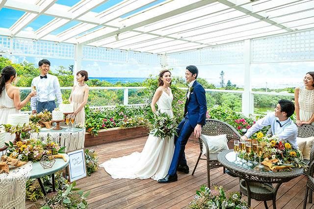 沖縄の離島『宮古島』『石垣島』でのリゾ婚の演出
