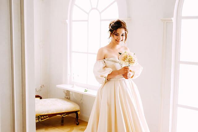 海外挙式のドレス